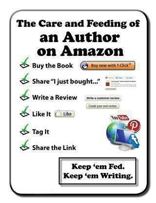 The Care and Feeding of an Author on Amazon